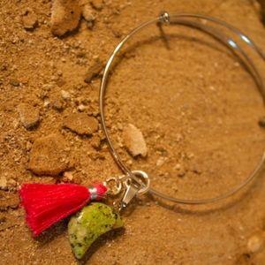 Jewelry - Unakite Moon Bracelet